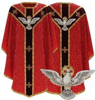 """Semi Gothic Chasuble """"Holy Spirit"""" GY824-AC26"""