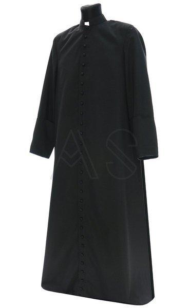 Black cassock for winter CASS-W-CZ