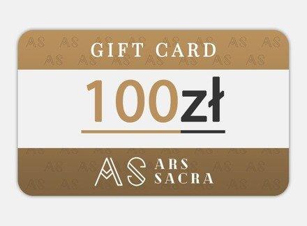 GIFT CARD 100 PLN