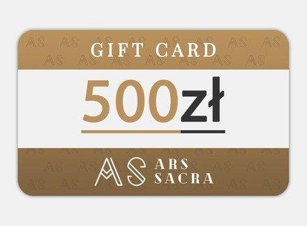 GIFT CARD 500 PLN