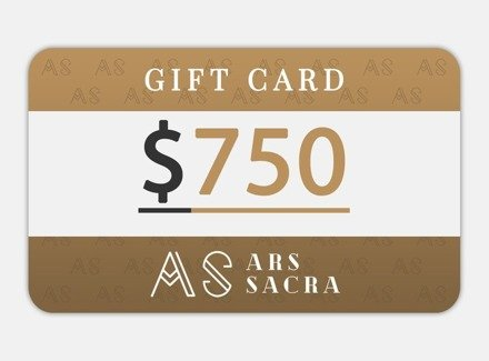 GIFT CARD 750 USD
