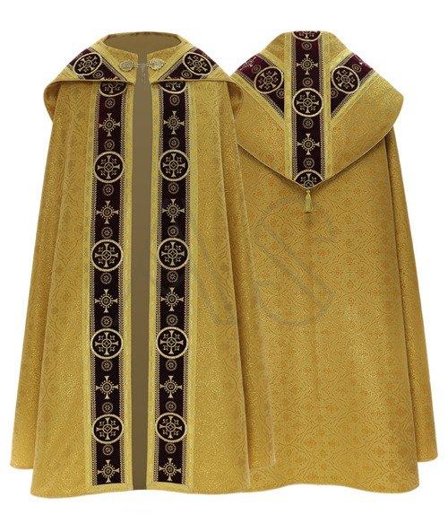 Chape semi-gothique KY579-ABC25p