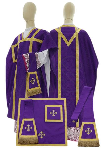 "Chasuble ""Saint Philippe Neri"" F000-G25"