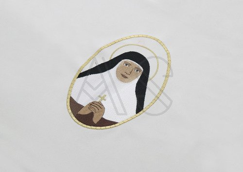 "Chasuble gothique ""Mariam Thresia Chiramel Mankidiyan "" 454-R25"