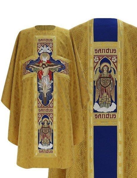 """Chasuble gothique """"Sainte Trinité"""" G778-GN16"""