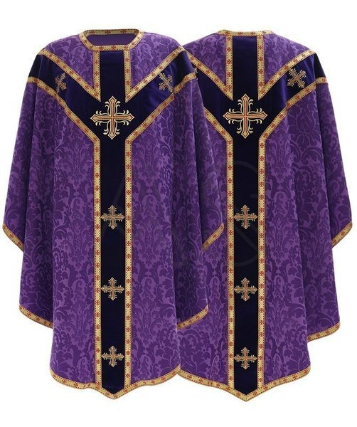 Chasuble semi-gothique GY784-AF26
