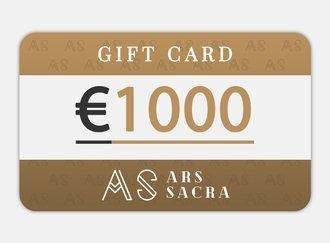 GESCHENKKARTE 1000 EUR