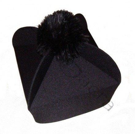Birreta negra con 4 esquinas B-2