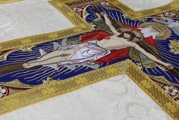 "Casulla romana ""Santísima Trinidad"" R778-K25"