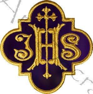"""Emblema """"IHS"""" AP-IHS-F"""