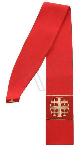 """Estola gótica """"Cruces de Jerusalén"""" SZ1-C"""