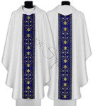 Casulla gótica mariana 561-ABN25